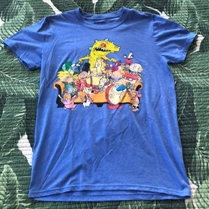 Old School Nickelodeon Characters T-Shirt